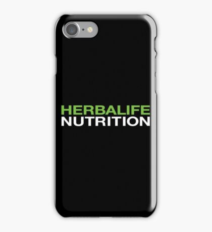 HERBALIFE NUTRITION iPhone Case/Skin