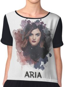 Aria - Pretty Little Liars Chiffon Top