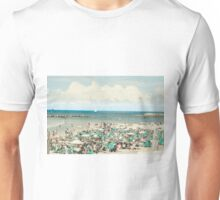 Sunny winter's day on Gordon Beach, Tel Aviv, Israel Unisex T-Shirt