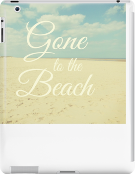 Gone To The Beach by AllyNCoxon