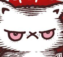 Coffee Right Meow!!!  Cute Cat Sticker