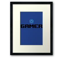 Gamer - video game t shirts Framed Print