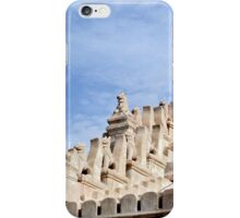 Ornate temple sculptures in Bagan, Myanmar iPhone Case/Skin