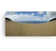 Rainbow Beach Sandblow #2 Canvas Print
