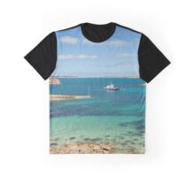 Porth Conger Inlet on St Agnes Graphic T-Shirt