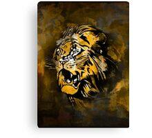Lion 4 Canvas Print