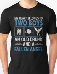 My Heart belong to two boys ( Sam and Dean ) T-Shirt