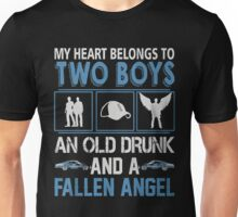 My Heart belong to two boys ( Sam and Dean ) Unisex T-Shirt