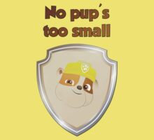 No pup's too small  One Piece - Short Sleeve