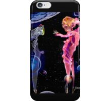 Fantasy photographic incense smoke image of Alien Captain iPhone Case/Skin