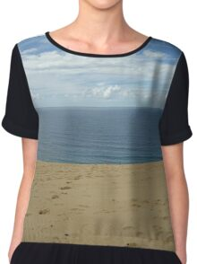 Rainbow Beach Sandblow #3 Chiffon Top