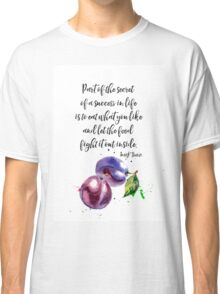 Mark Twain - about food PLUM Classic T-Shirt