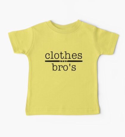 One tree hill- Clothes over bro's Baby Tee