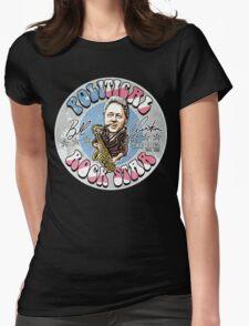 Bill Clinton Political Rock Star Womens Fitted T-Shirt