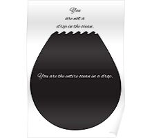 Droplet Motivation Poster