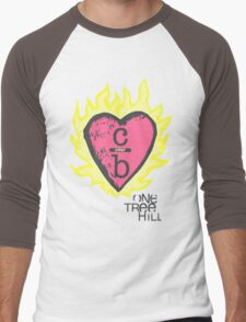 One tree hill- Burning Heart Men's Baseball ¾ T-Shirt