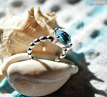 Ring on the shore line by fruitcake