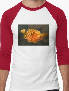 Chrysanthemum Gently Floating in the Fountain of Campo de Fiori, Rome, Italy Men's Baseball ¾ T-Shirt