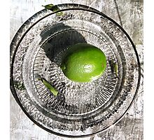 Lime Photographic Print
