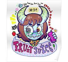 Fruit Juice Poster