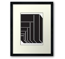 Geometric Rectangle 1 Framed Print