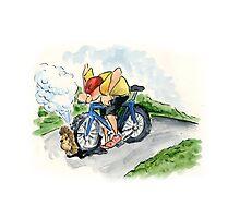 Mountain Bike Challenges Photographic Print