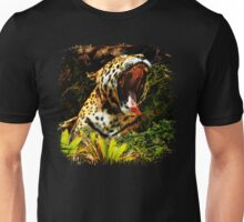 Jaguar Roar Yawn Unisex T-Shirt