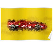 Ferrari Formula One Poster