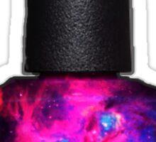 Galaxy nail polish Sticker