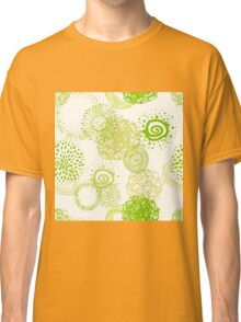 circles abstract seamless pattern Classic T-Shirt
