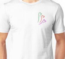 Diplodocus Digital Drawing PNG Unisex T-Shirt