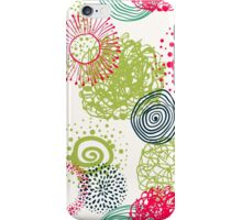 circles abstract seamless pattern iPhone Case/Skin