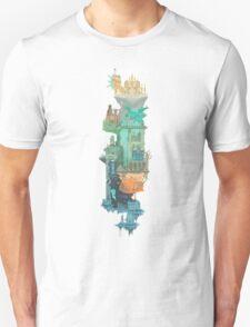 Dark Souls World Map T-Shirt
