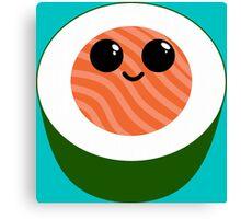 Cute Sushi Roll Canvas Print