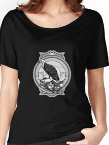 eagle skull Women's Relaxed Fit T-Shirt