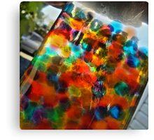coloured balls Canvas Print