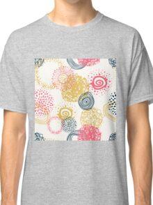 circles abstract seamless pattern  Classic T-Shirt