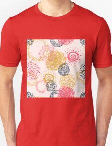 circles abstract seamless pattern  Unisex T-Shirt