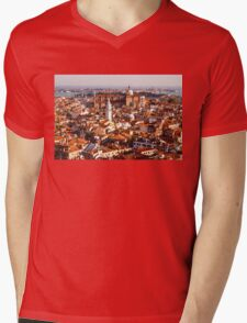Hot, Hazy and Wonderful - the Red Roofs of Venice, Italy Mens V-Neck T-Shirt