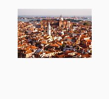 Hot, Hazy and Wonderful - the Red Roofs of Venice, Italy Unisex T-Shirt