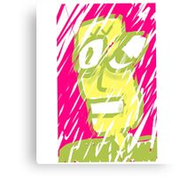 Snowstorm dude. Canvas Print