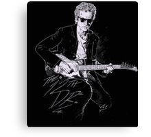 The Twelfth Doctor Dr. Who Quote Canvas Print