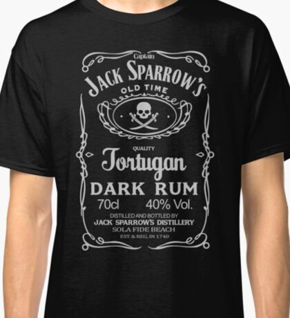 Captain jack sparrow's dark rum Classic T-Shirt