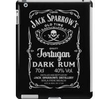 Captain jack's dark rum iPad Case/Skin