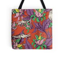The Sea Garden - retro pop Tote Bag