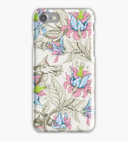 The Sea Garden - pastel iPhone Case/Skin