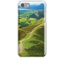 Catbells, Lake District UK iPhone Case/Skin