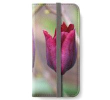 Purple Tulips iPhone Wallet/Case/Skin