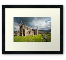 Tintern Abbey Wye Valley Framed Print