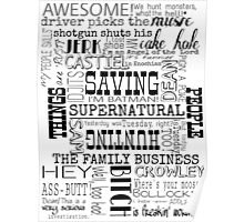 Supernatural- Quotes Poster